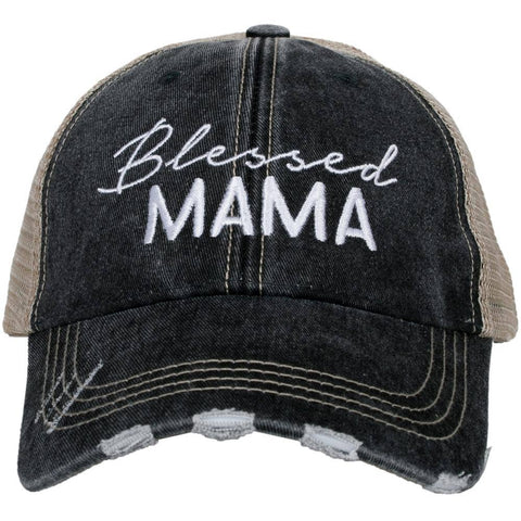 Blessed Mama Trucker Hat by Katydid