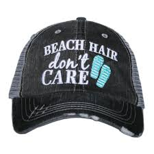 Beach Hair Don't Care Hat by Katydid