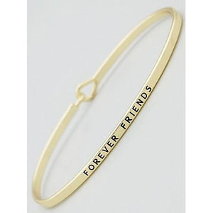 Forever Friends Thin Bangle