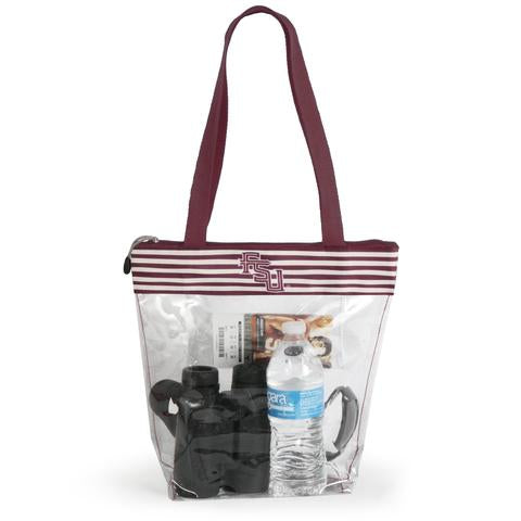 Zipper Stadium Tote by Desden