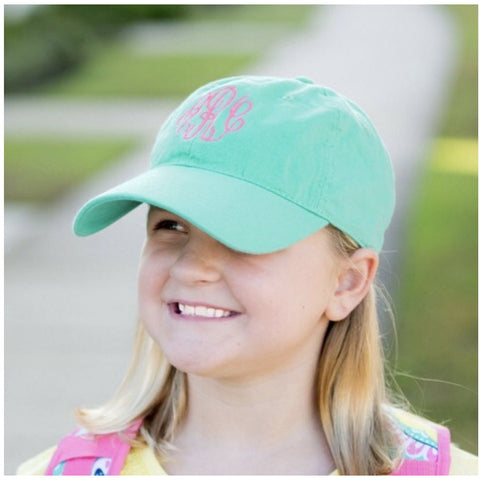 Kids Monogram Hat