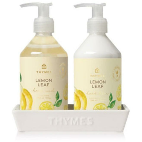 Thymes Soap & Lotion Caddy Tray Set
