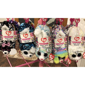 Beanie Boo Flippable Slippers