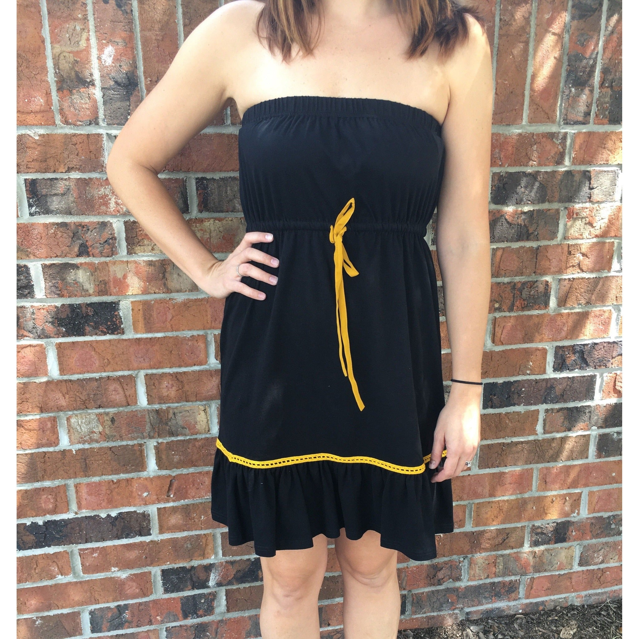 Game Day Strapless Dress