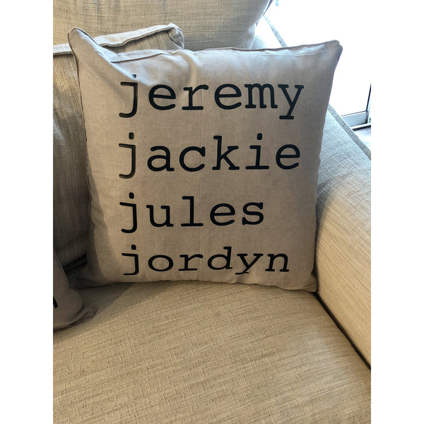 Personalized Pillow Cases