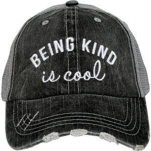 Being Kind is Cool Trucker Hat by Katydid
