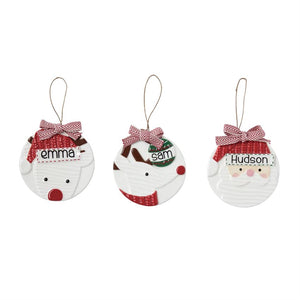 Personalized Character Ornaments