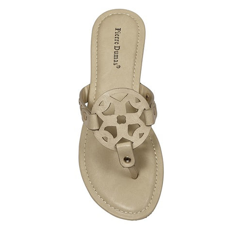 Nude Circle Design Sandal