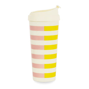 Kate Spade Thermal Mug - Two Tone Stripe