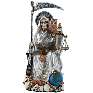 Santa Muerte, Holy Death, Folk Saint (Peace, Blessing, Total Purification, General Protection, Healing, Prosperity)