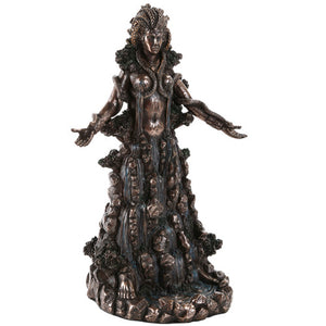 Danu Goddess Statue (Mother, Female Strength, Power, Fertility, Growth, Abundance Agriculture Bounty, Nurturing Nature)