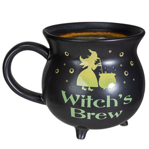 Witch's Brew Cauldron Large Mug