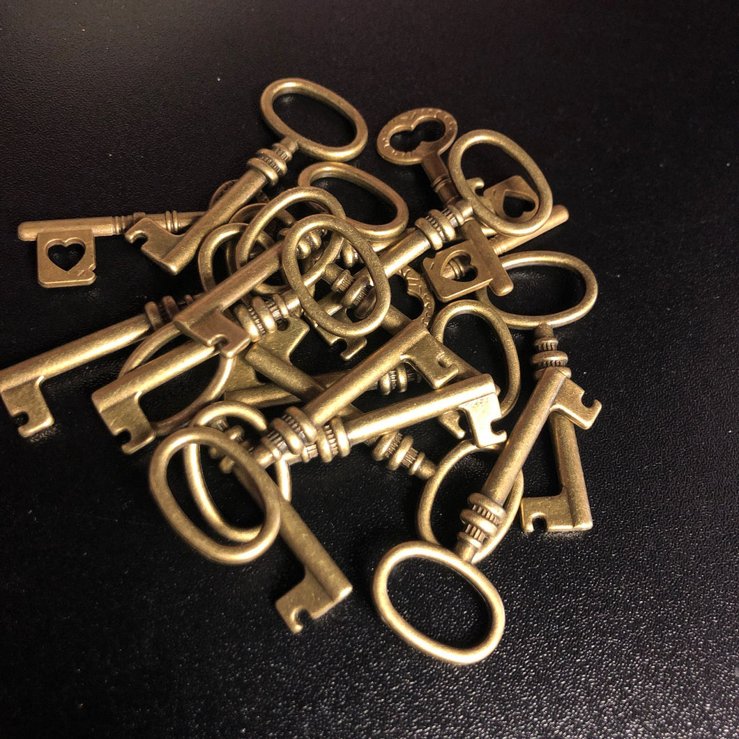 Skeleton Key Charms (Knowledge, Access, Open and Lock Doors, Boundaries, Remove Obstacles)