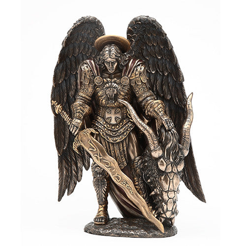 St. Michael Statue (Mighty Protection, Overcome Extreme Problems or Situations)