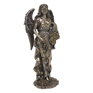 Fortuna Goddess Statue (Abundance, Prosperity, Money, Means, Fortune, Luck)