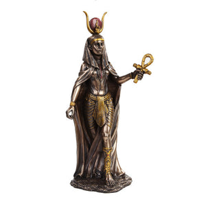 Hathor Goddess Statue (Mother, Love, Joy, Watches Over Mankind)