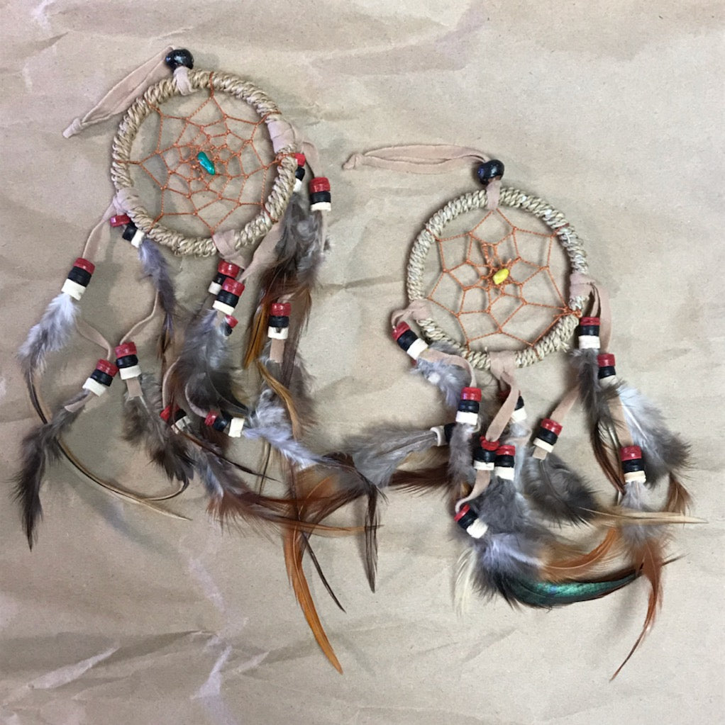 Dream Catcher (Sleep, Prevents Nightmares) 2 Styles and Several Colors