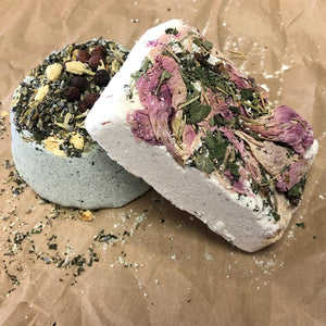 Herbal Bath Bombs (Protection, Healing, Love, Relaxation, Success, Road Opener, Prosperity) 9 Varieties to Choose From