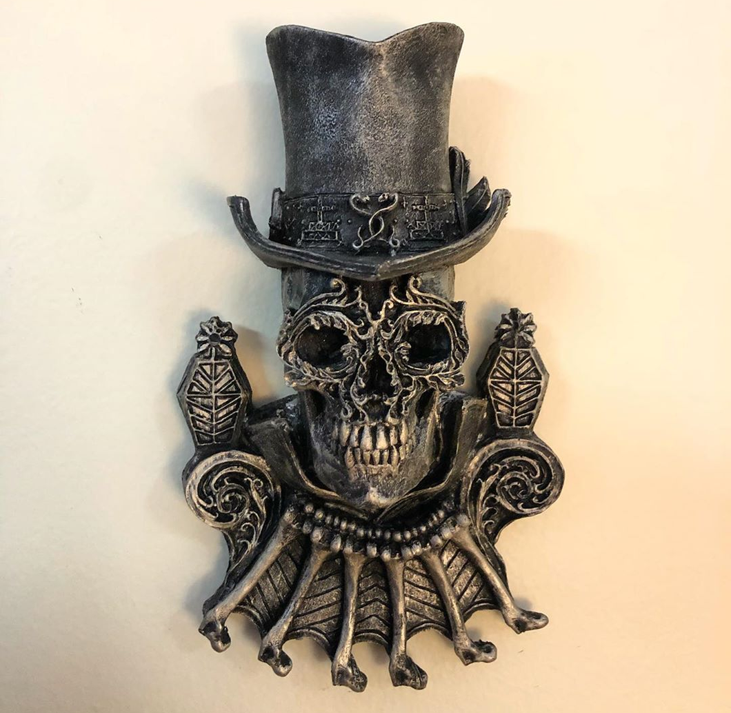 Baron Samedi Plaque (Keeper of the Dead, Communication With the Dead, Ancestor)