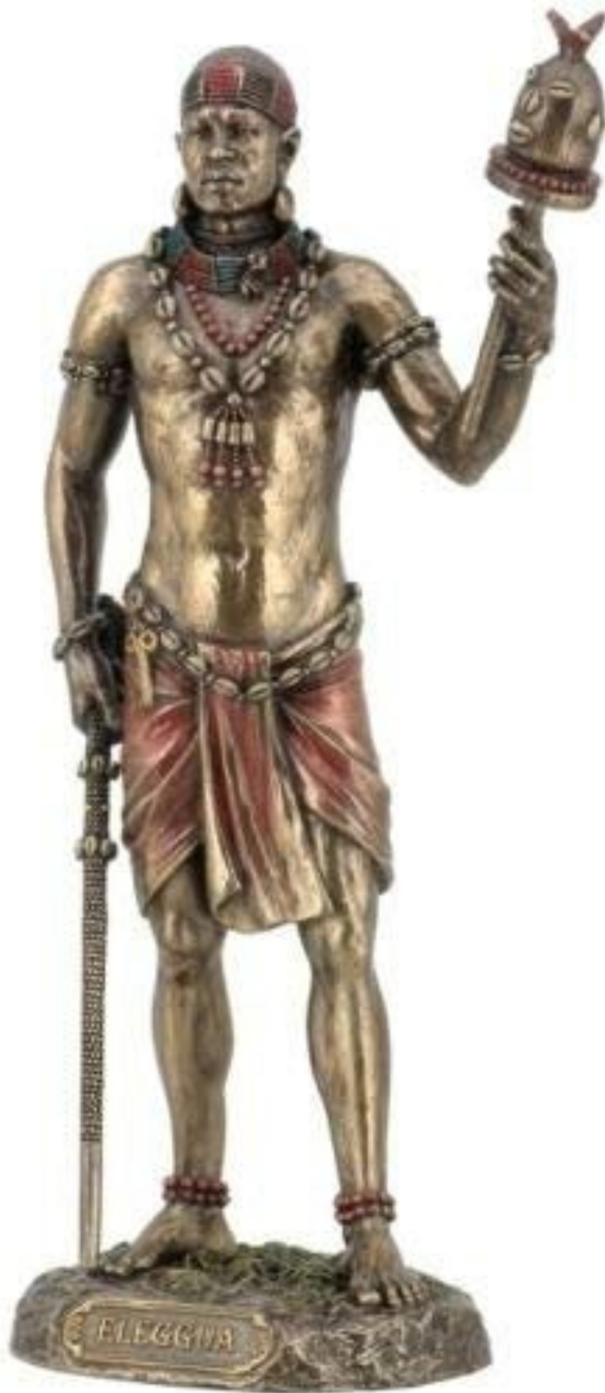 Elegua Statue (Crossroads, Decisions, Communication with the Divine)