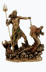 Poseidon God Statue (Safe Voyage, Sailors)