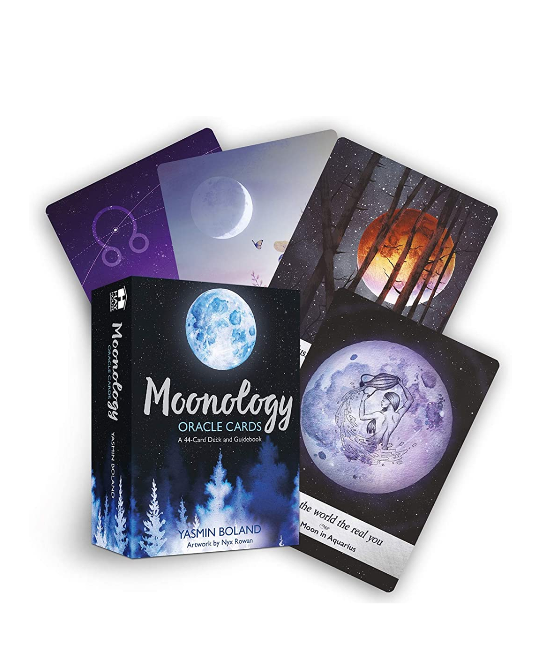Moonology Oracle Cards (Divination, Oracle, Fortune Telling)