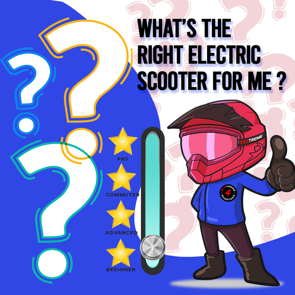What's the right electric scooter for me?