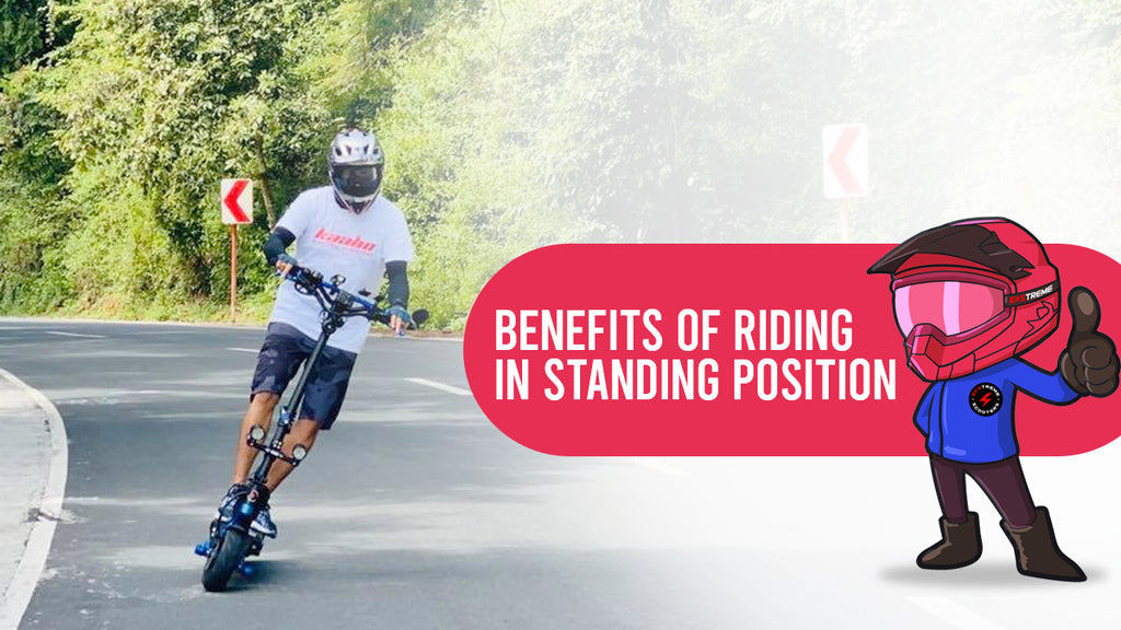 Benefits of Riding in Standing Position
