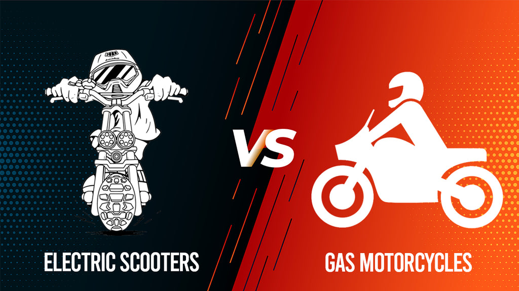 Electric Scooters VS. Gas Motorcycles