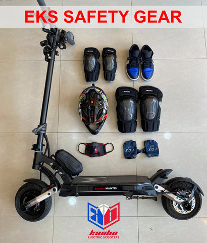 electric scooter safety gear kaabo