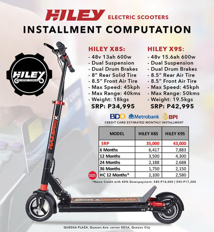 hiley electric scooter