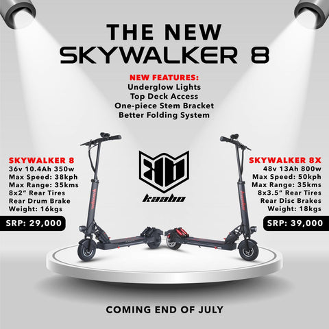 kaabo electric scooter skywalker
