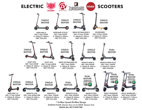 ekstreme electric scooters ph