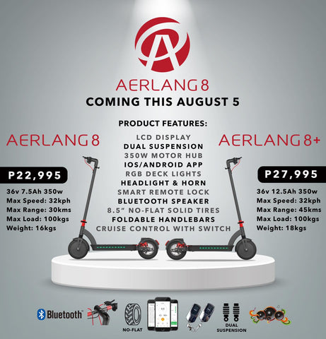 aerlang electric scooter ekstreme scooter
