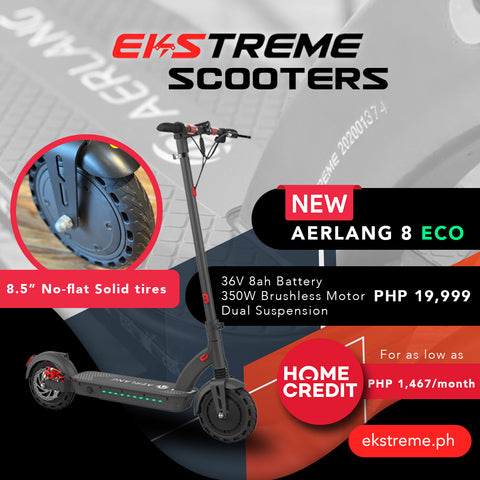 aerlang 8 eco electric scooter