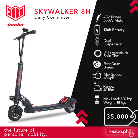 kaabo 8H electric scooter ph