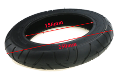 Mijia M365 10 inch Wanda 10*2 P1069 Cover Tire - Ekstreme Electric Scooters PH