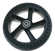 Segway Porous Solid Tire+Rear Wheel Rim for Ninebot ES1 ES2 ES3 ES4 - Ekstreme Electric Scooters PH