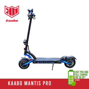 Kaabo Mantis Pro - Ekstreme Electric Scooters PH