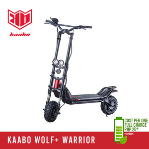 Kaabo Wolf Plus Warrior - Ekstreme Electric Scooters PH
