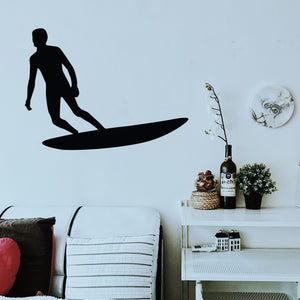 Décoration murale surf love trophy