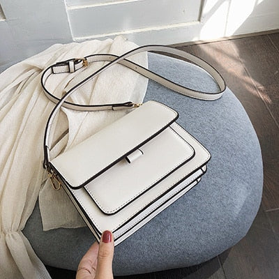 Handbag Women Shoulder Bag Luxury 2019 New Designer Small Crossbody Bags PU Leather Purses and Handbags Travel Hand Bag