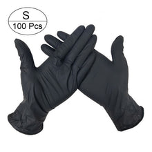 Load image into Gallery viewer, 100 Pairs Disposable Gloves Latex Dishwashing/Kitchen/Medical /Work/Rubber/Garden Gloves Universal For Left and Right Hand 3 Color