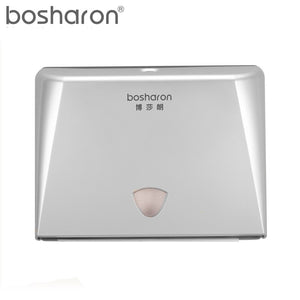 Hand Paper Towel Dispenser Wall Mounted Multifold Paper Towels Tissue Box For Kitchen Bathroom Washroom Lockable Design