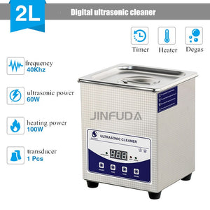 Industrial Ultrasonic Cleaning Laboratory / Dental Hardware Cleaner