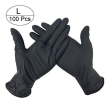 Load image into Gallery viewer, 100 PCS 3 Color Disposable Gloves Latex Dishwashing/Kitchen/Medical /Work/Rubber/Garden Gloves Universal For Left and Right Hand