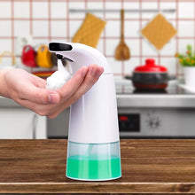 Load image into Gallery viewer, 250ml Hand Soap Dispenser Infrared Sensing Automatic Portable Foam Liquid Soap Dispenser for Bathroom Kitchen Foam Tubes