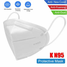 Load image into Gallery viewer, N95 Non-Woven Disposable Antibacterial Face Masks - Pack of 10