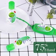Load image into Gallery viewer, 3 pcs 50ml Anti-Bacteria Hand Sanitizer Gel + 1 Silicone Sanitizer Holder No-clean Hand Gel Instant Waterless Handgel