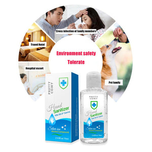 70ml Handgel 75% Ethanol Kids Adults Anti Bacterial Disposable Hand Sanitizer Hand Disinfection Gel